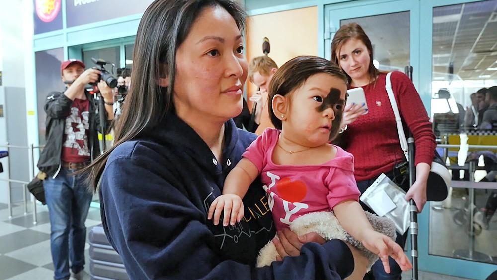 Девочка из США Деми прилетела на лечение в Краснодар