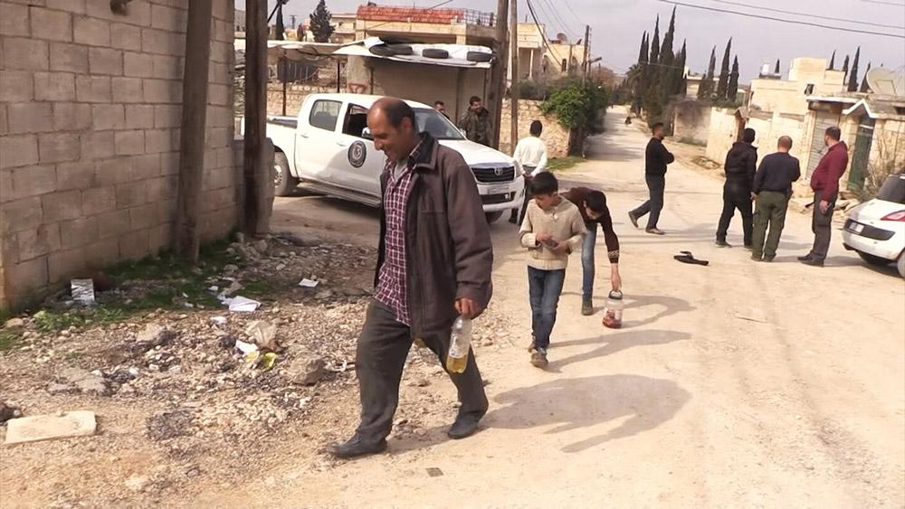 Жители Алеппо возвращаются в свои дома