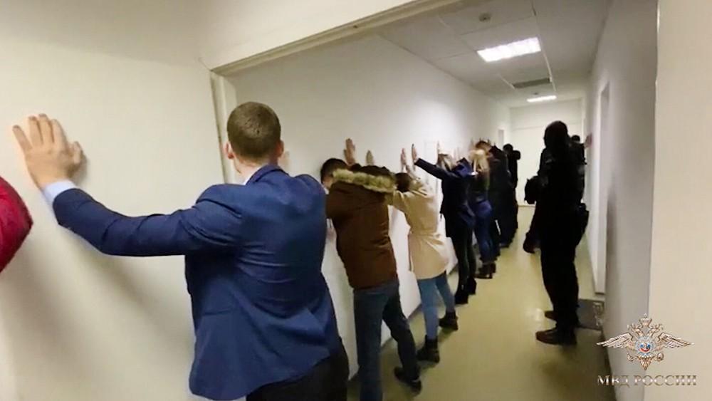 Задержание группы мошенников