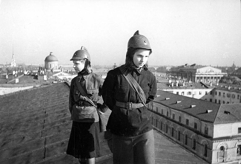 Блокадный Ленинграда