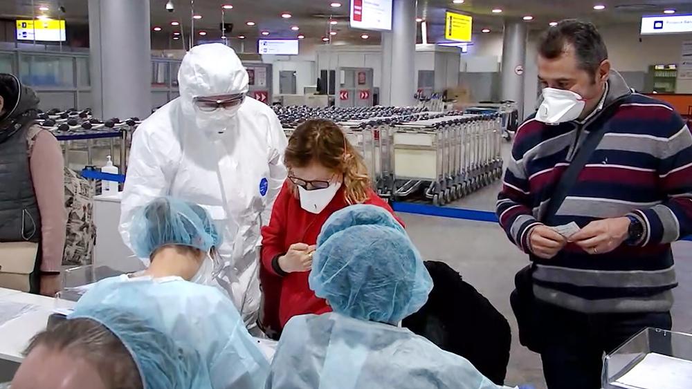 Санитарный контроль в связи с эпидемией коронавируса