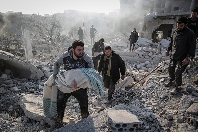 Боевые действия в Сирии. Провинция Идлиб