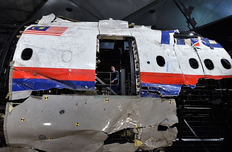 Крушение лайнера Boeing 777 Malaysia Airlines (рейс MH17)
