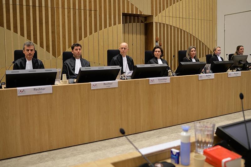 Заседание суда в нидерландском Бадхоеведорпе по делу о крушении самолета Boeing 777