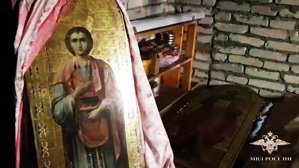 В Подмосковье задержали похитителей иконы Георгия Победоносца