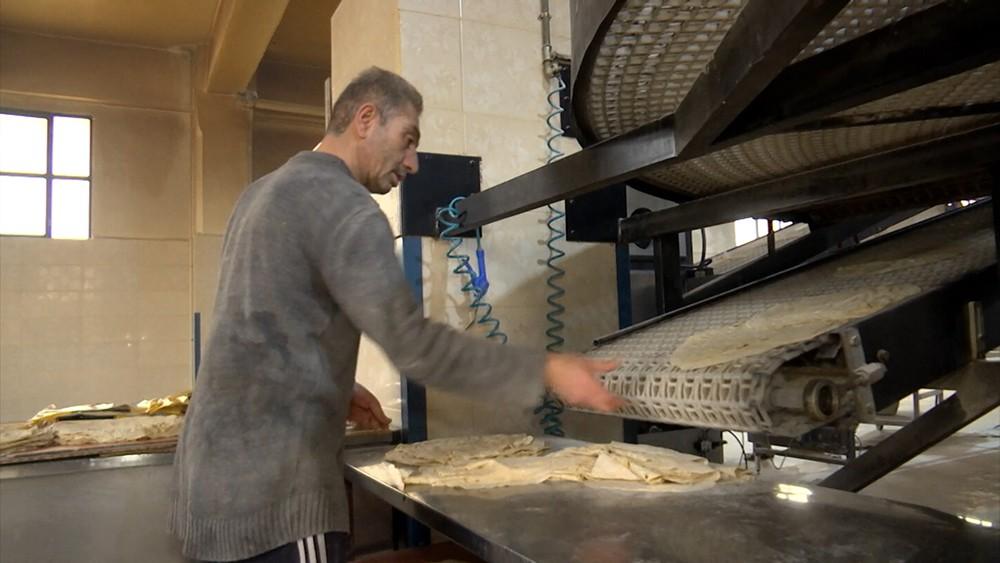 Хлебозавод в Сирии