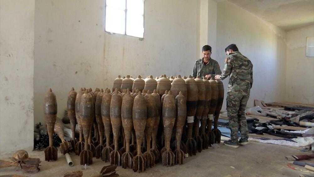 Оружейный завод боевиков