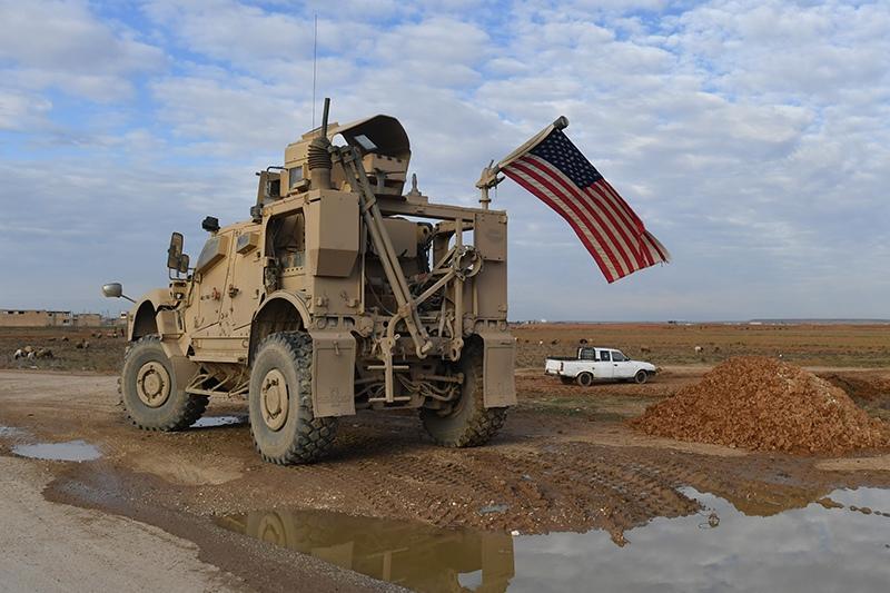 Военная техника США в Сирии