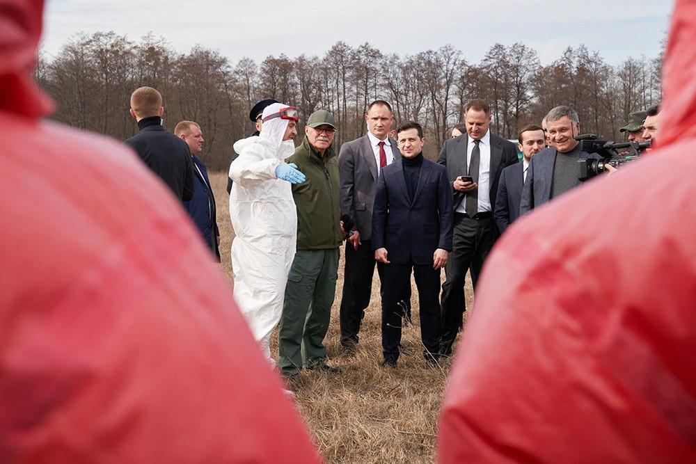 Владимир Зеленский оценил меры безопасности против распространения коронавируса
