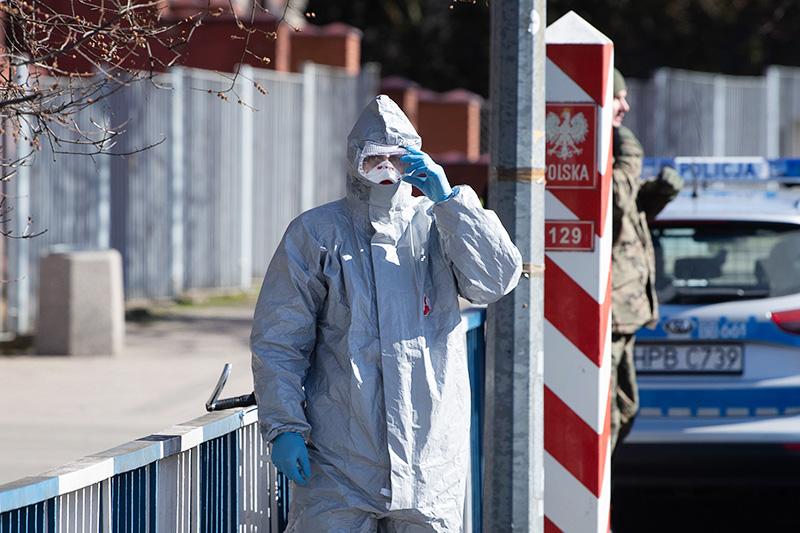 Закрытие границ Польши из-за угрозы распространения коронавируса