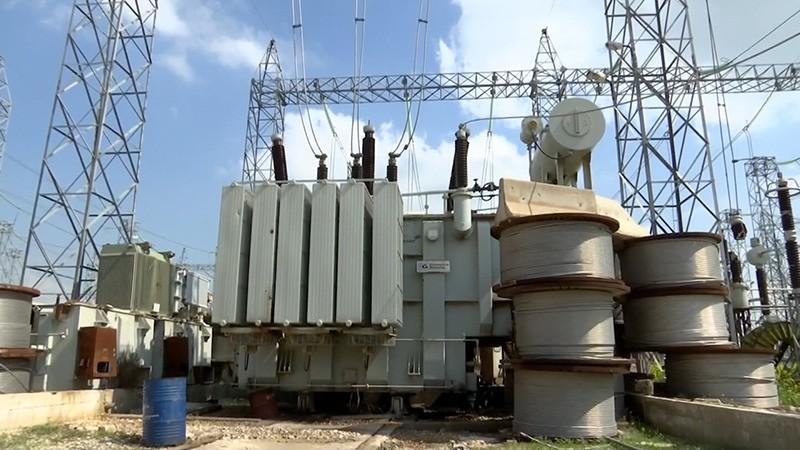 Электроподстанция в Сирии
