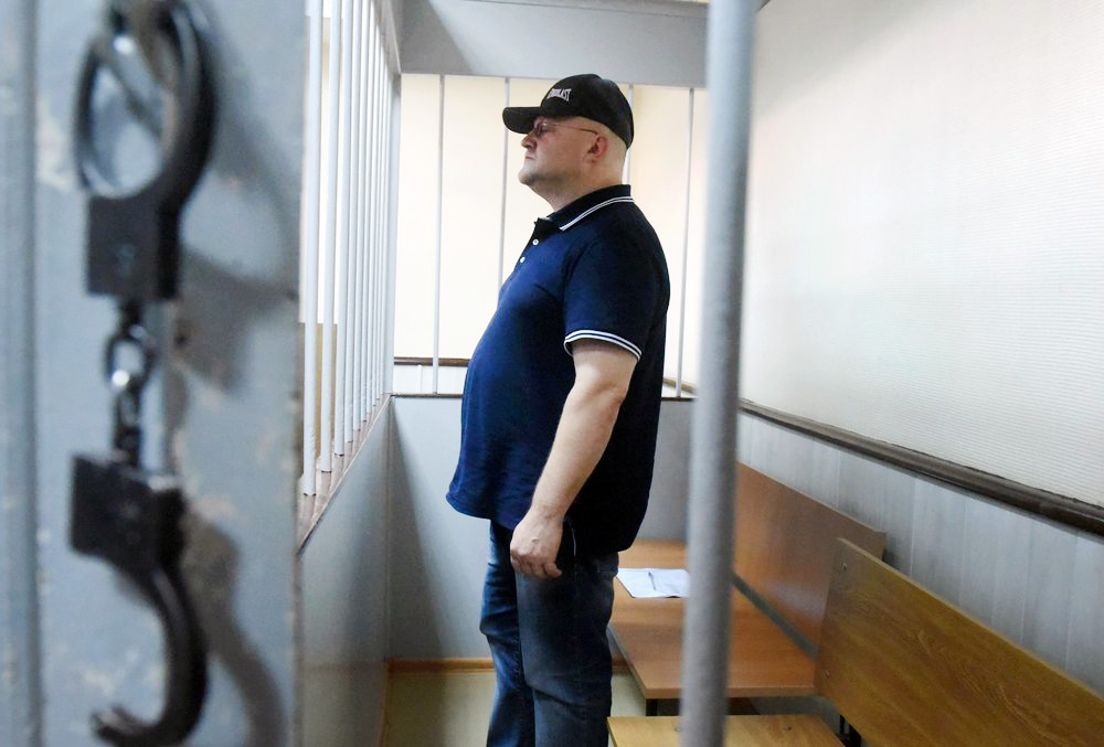 Александр Дрыманов в суде