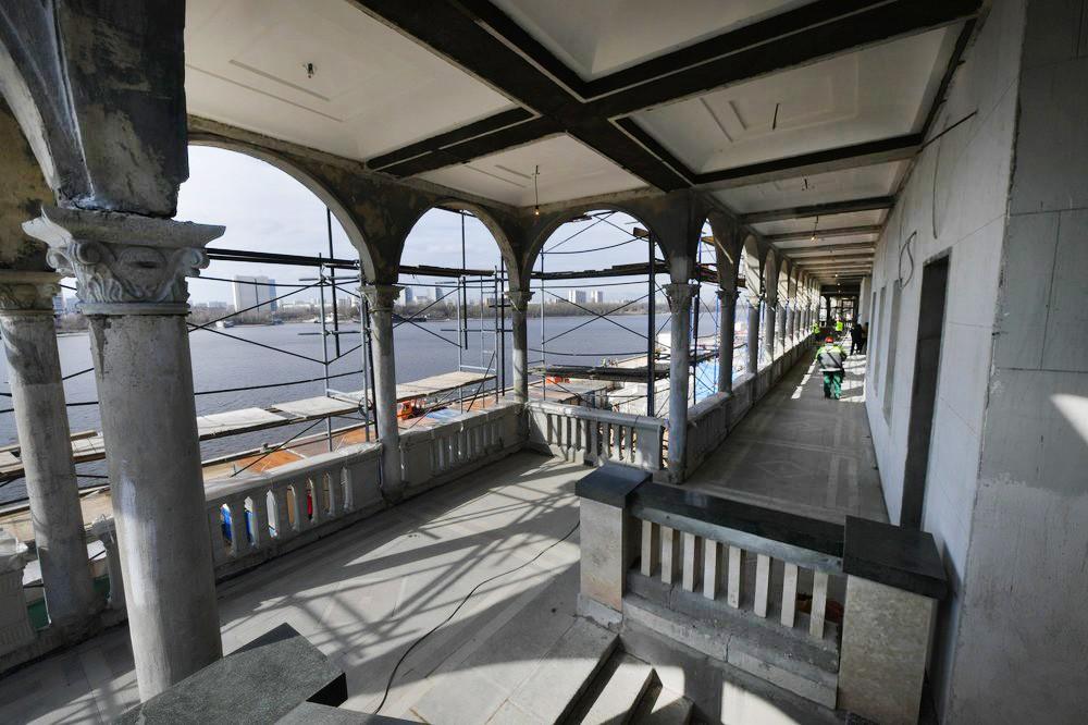 Реконструкция Северного речного вокзала Москвы