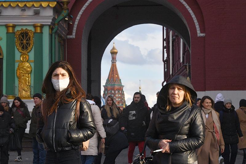 Вирус в Москве