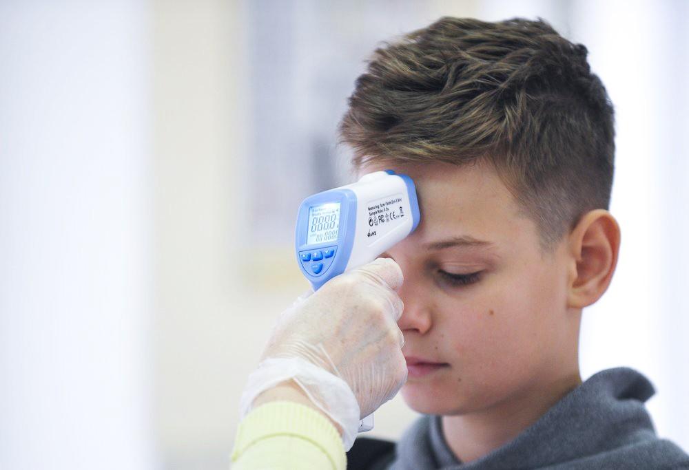 Меры безопасности против распространения коронавируса в школе