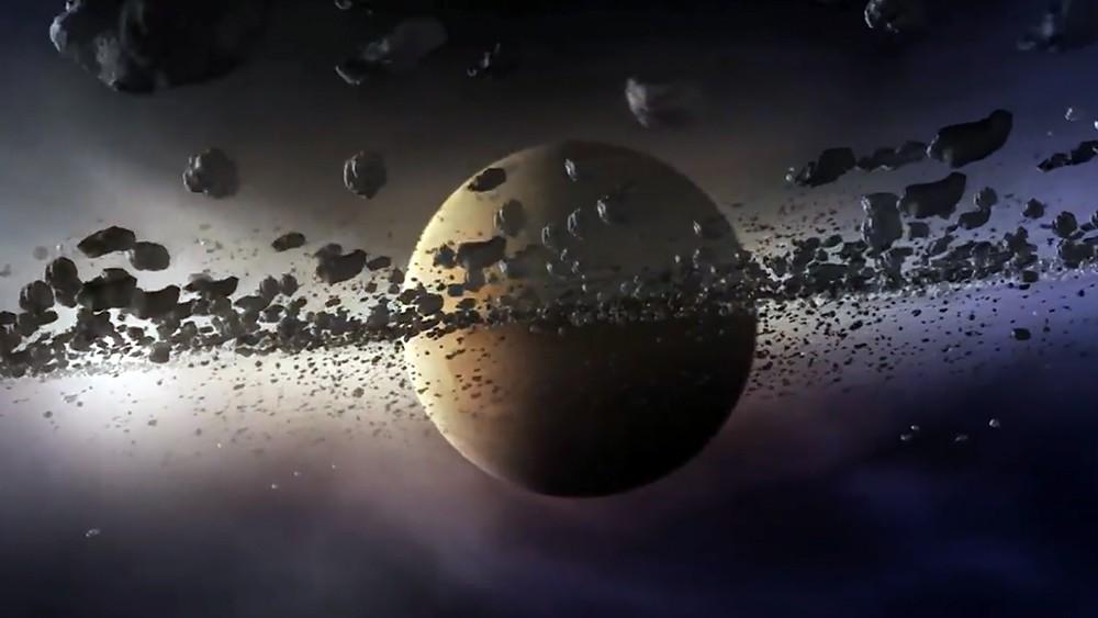 Астероидный пояс вокруг планеты