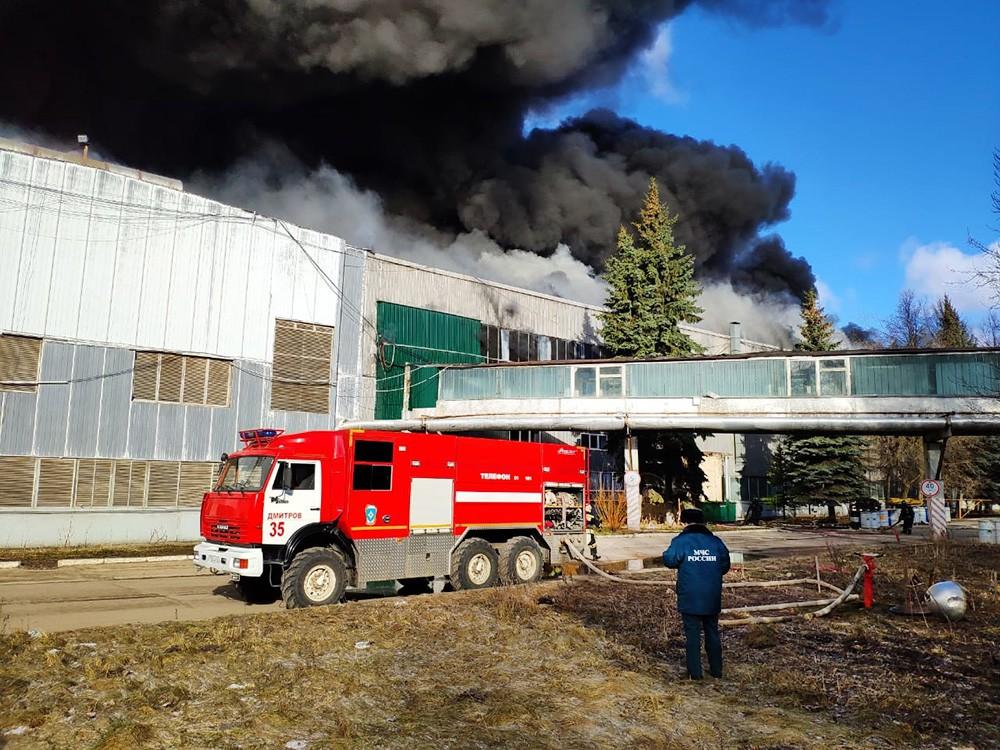 Последствия возгорания в промзоне