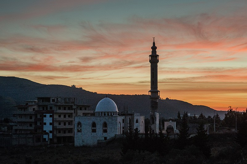 Мечеть в Сирии