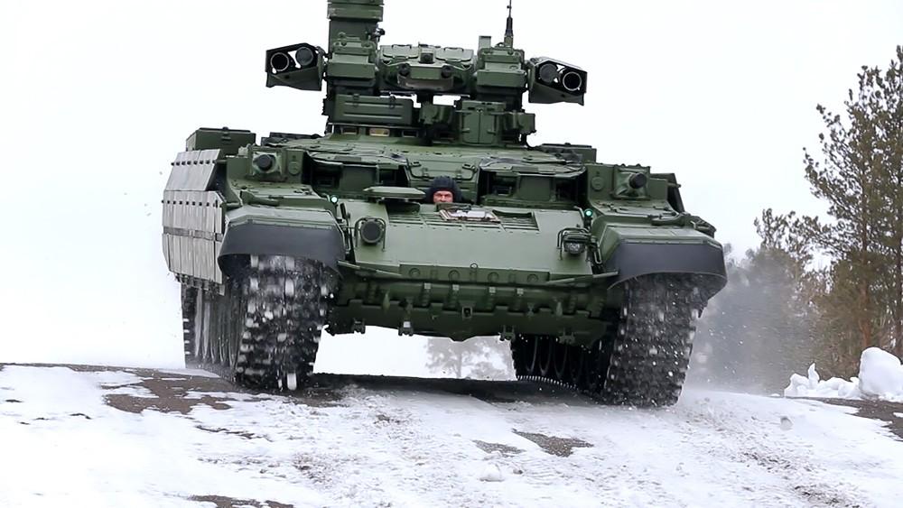 """Боевая машина огневой поддержки БМПТ """"Терминатор"""""""