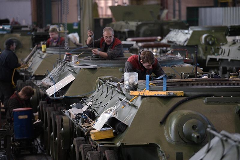 Восстановление танков Т-34 в Санкт-Петербурге
