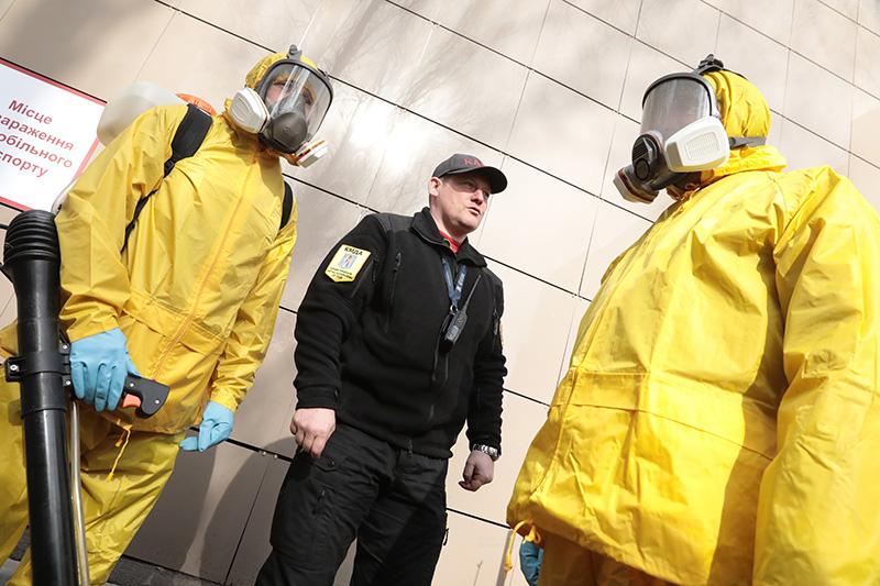 Эпидемия коронавируса на Украине