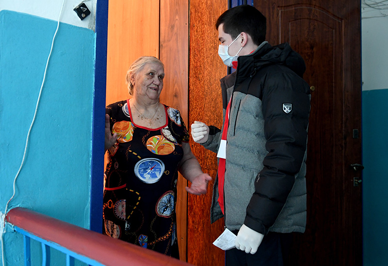 Помощь пожилым и маломобильным людям
