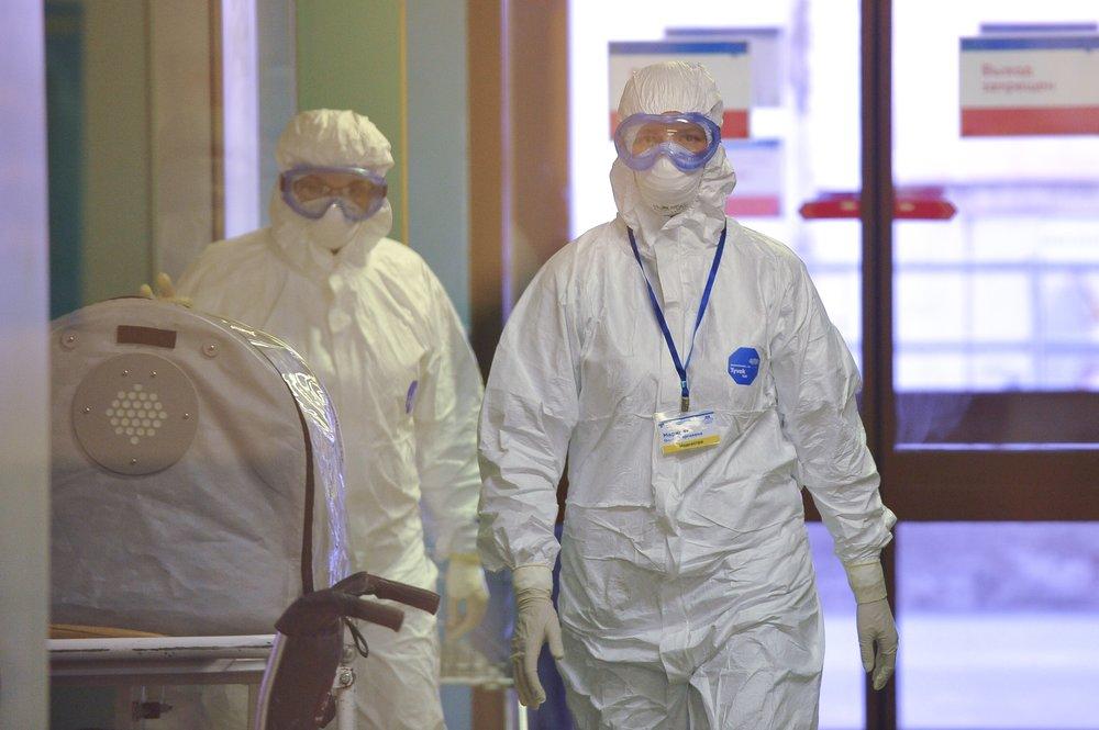 Корпус для пациентов с подозрением на коронавирусную инфекцию