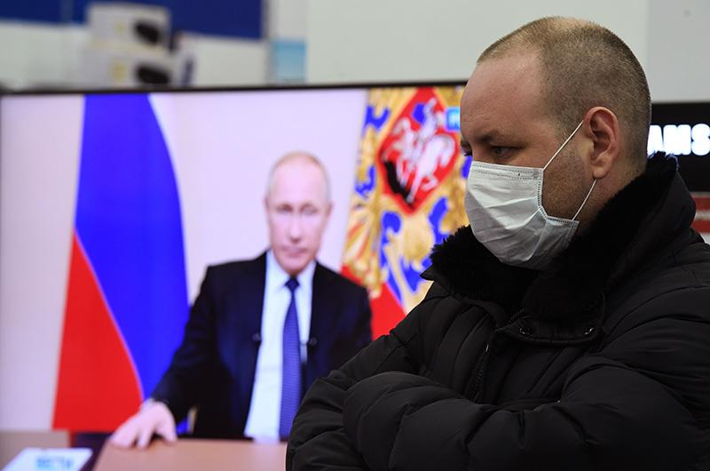 Путин назвал сроки окончания войны с коронавирусом