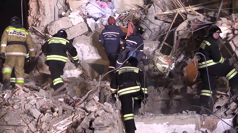 В жилом доме в Магнитогорске произошел взрыв газа