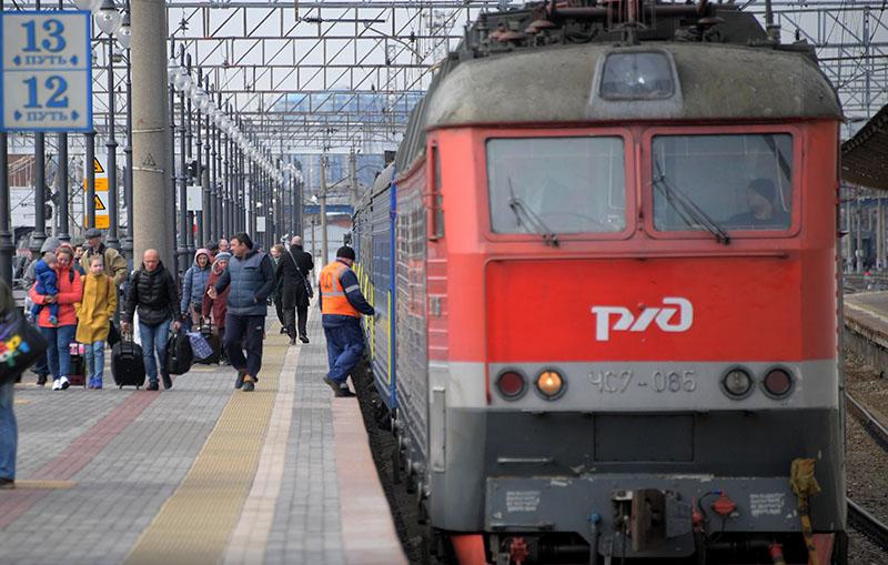 """Поезд """"Киев-Москва"""""""