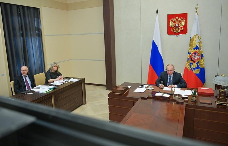 Владимир Путин участвует в онлайн-саммите G20