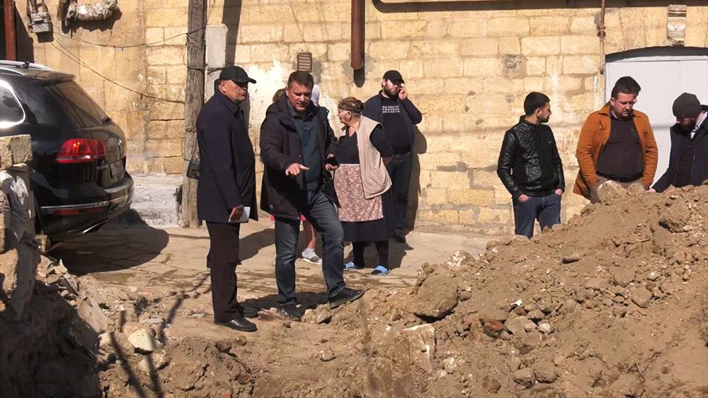 Археологические раскопки в Дербенте, Дагестан