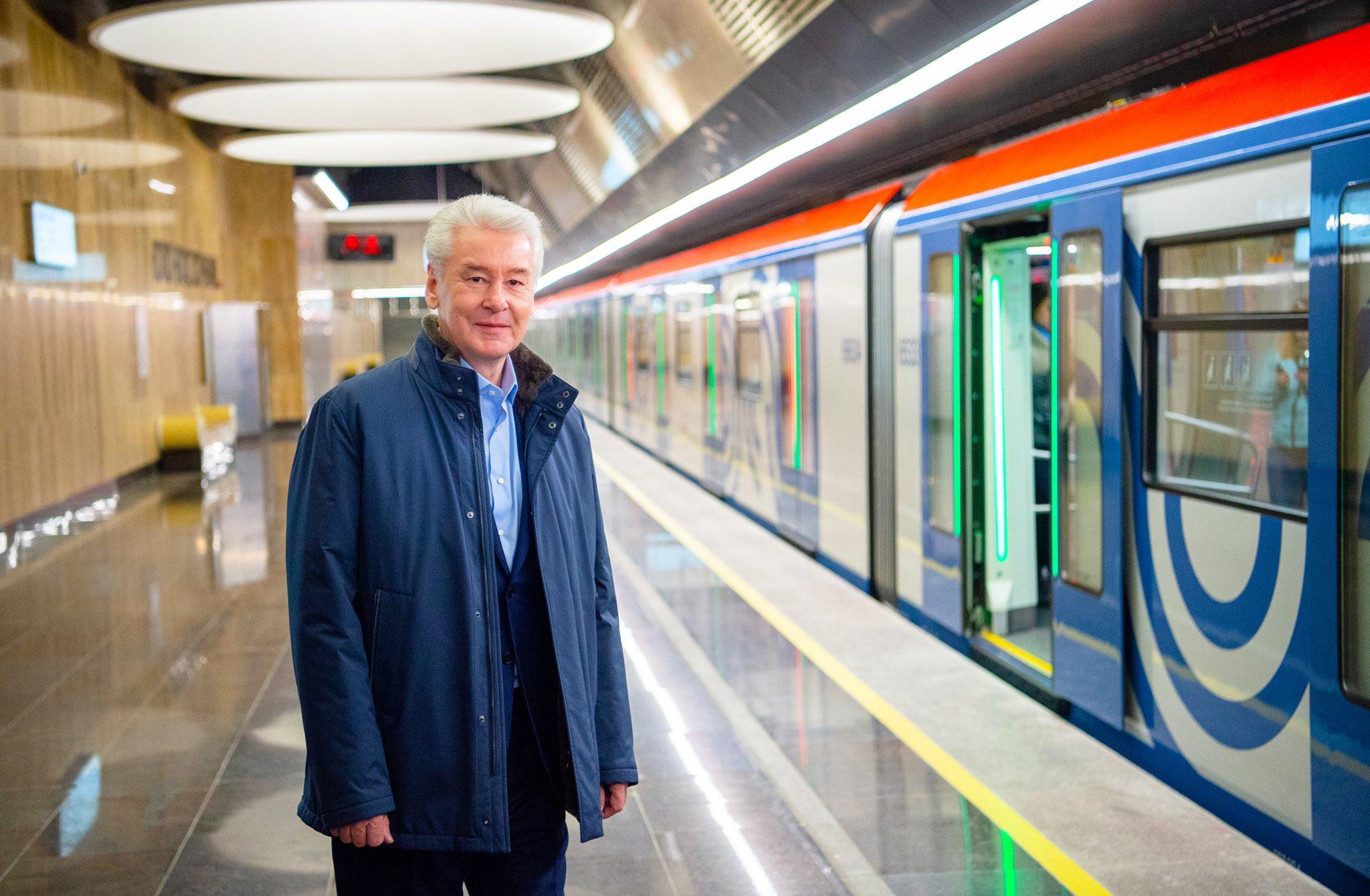Сергей Собянин рассказал об окончании строительства Некрасовской линии метро