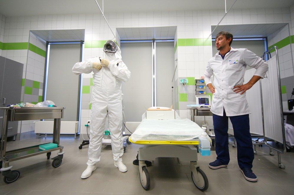 Боксы экстренной медицинской помощи для пациентов с подозрением на коронавирусную инфекцию