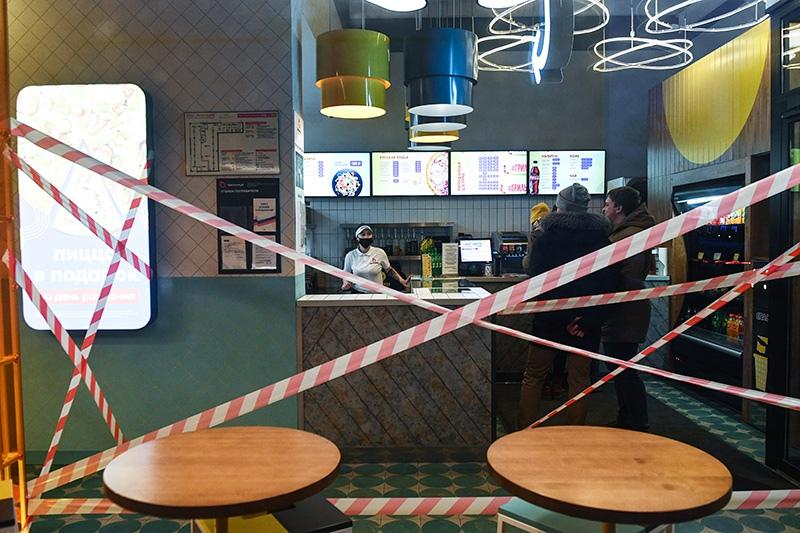 Закрытие кафе на карантин