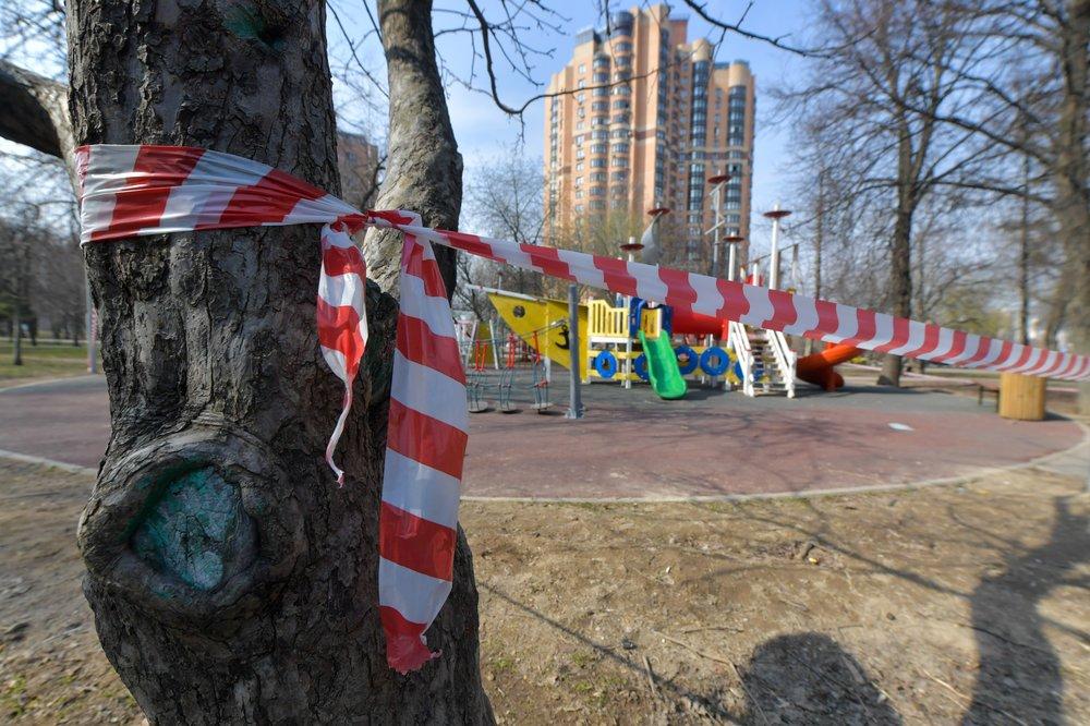 Режим самоизоляции в Москве