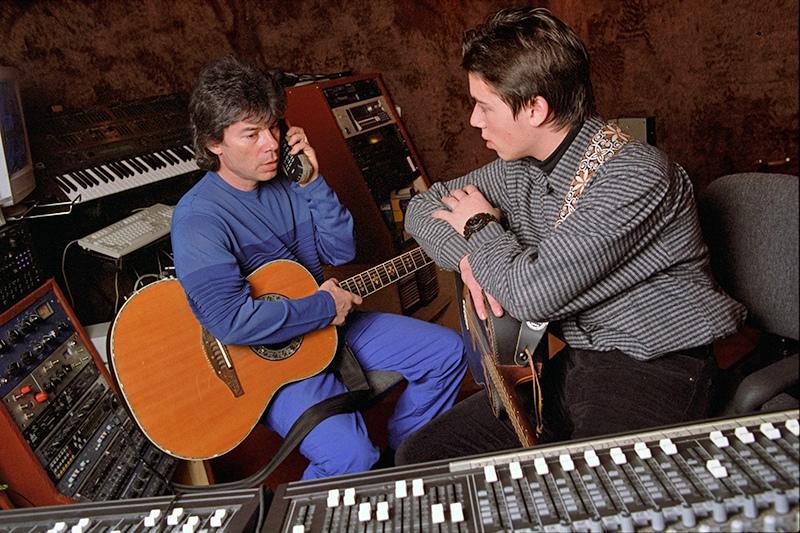 Олег Газманов со своим сыном Родионом