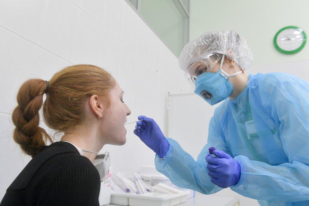 Сдача тестов на наличие коронавирусной инфекции в лаборатории