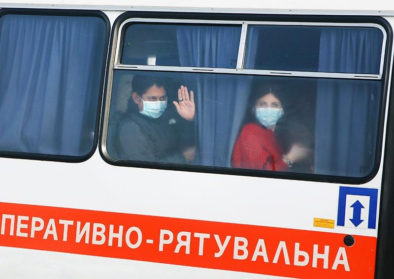 Меры по предотвращению распространения коронавируса на Украине