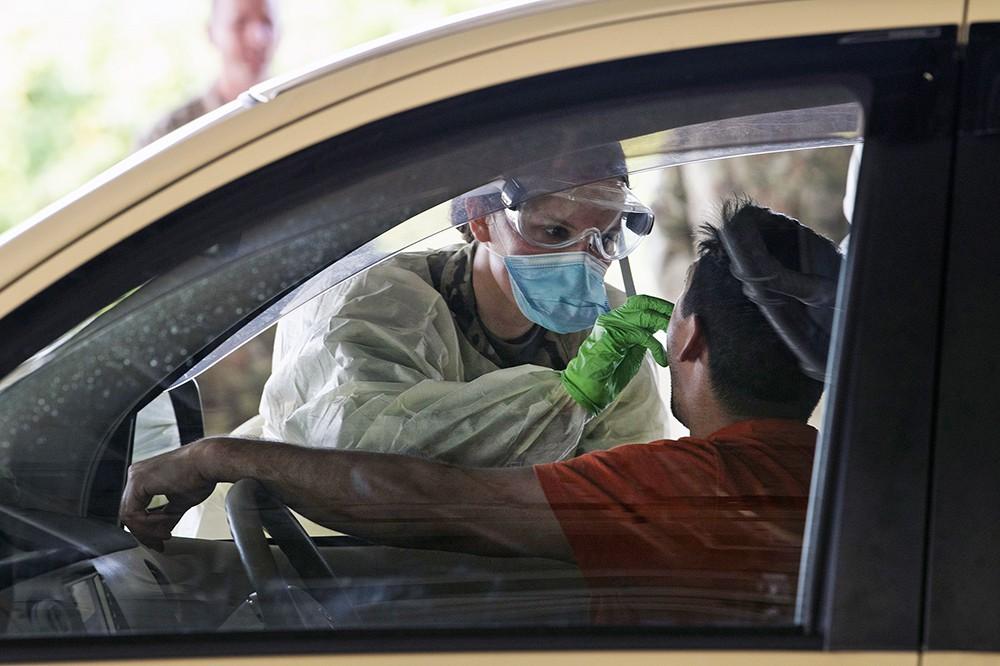 Борьба с распространением коронавируса в США
