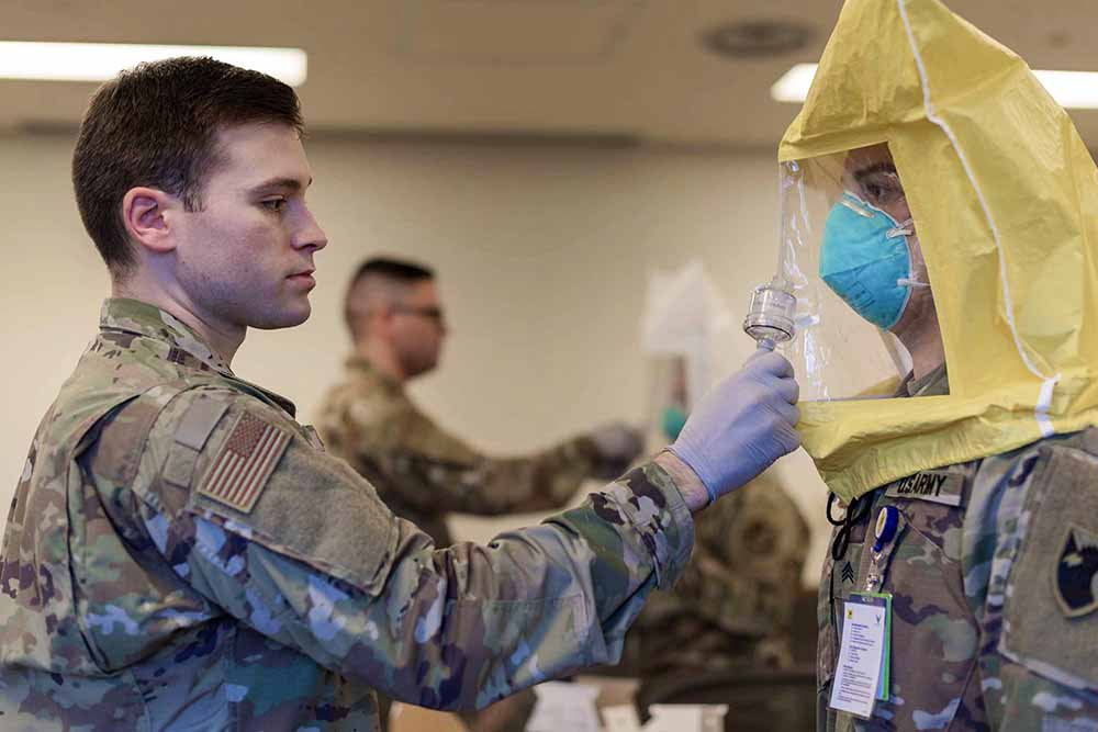 Препятствие распространению коронавируса в США