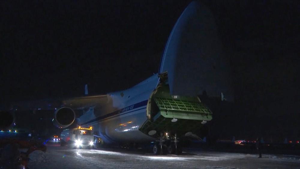 Самолет с медпомощью для США