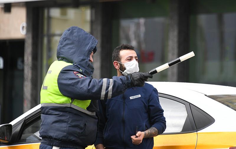 Инспектор ДПС и таксист