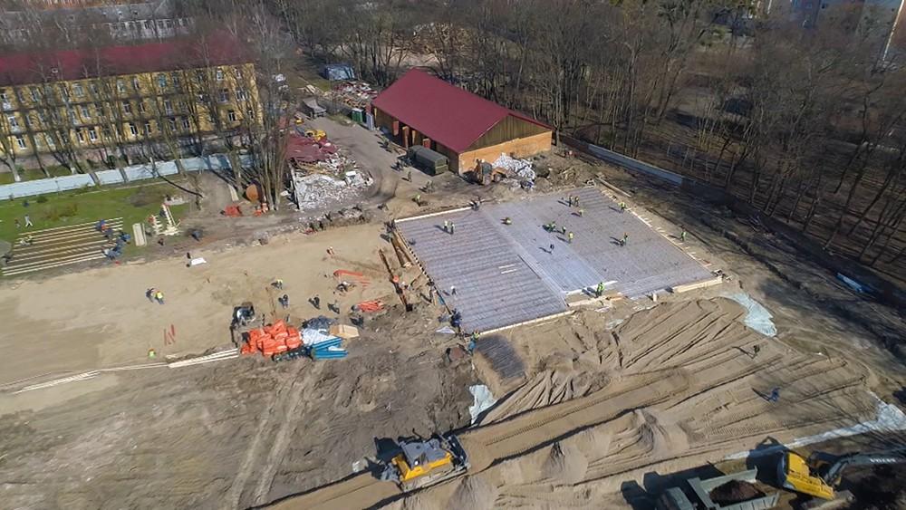 Строительство медцентра в Калининграде