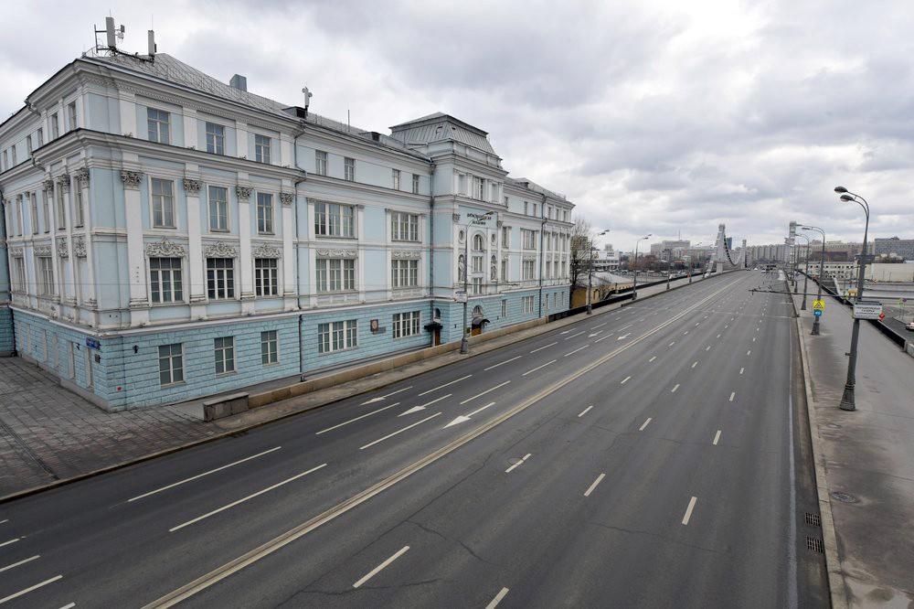 В Москве введен режим самоизоляции