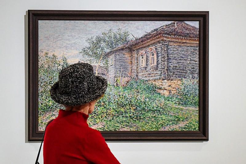Выставка в Третьяковской галереей