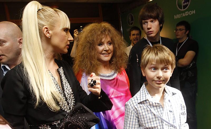 Кристина Орбакайте, Алла Пугачева и сын Кристины Дени