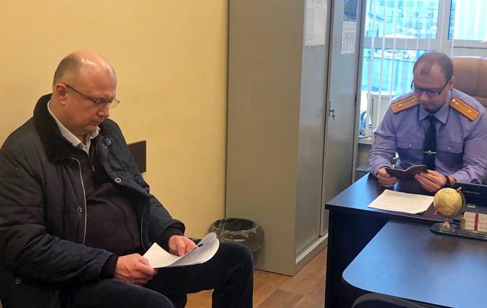 Задержанный вице-губернатор Кировской области Андрей Плитко