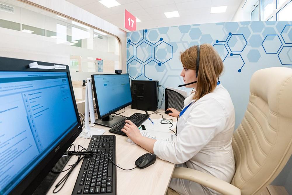 Работа службы телемедицинской помощи
