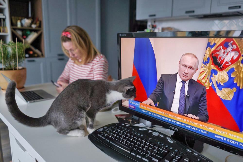 Обращение Владимира Путина в период самоизоляции